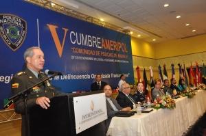 JEFE PN DE COLOMBIA Y PRESIDENTE AMERIPOL
